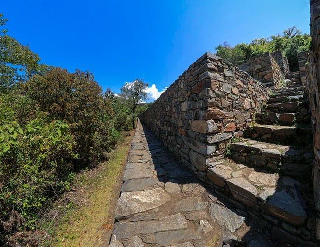 choquequirao guided trek