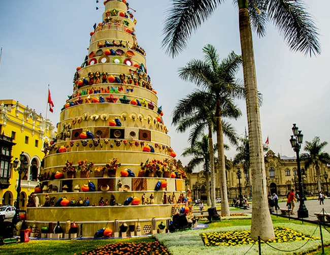 Christmas in Peru South America Iletours