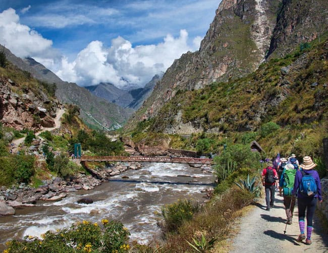 Salkantay trek campsites
