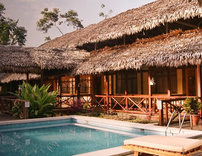 luxury amazon jungle lodge peru iletours