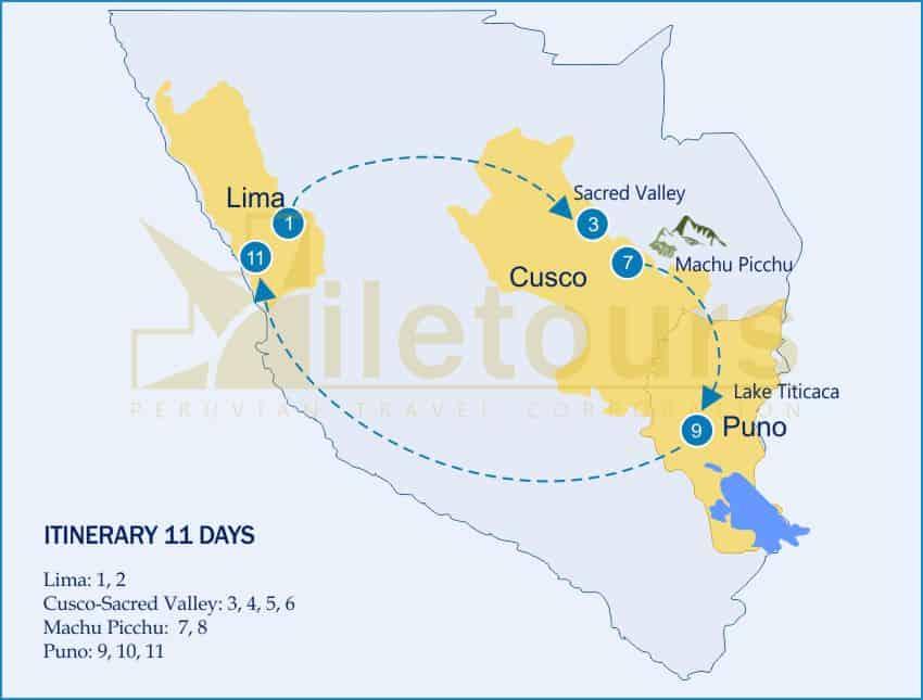 New Year Machu Picchu, Lake Titicaca Puno - 11 Days