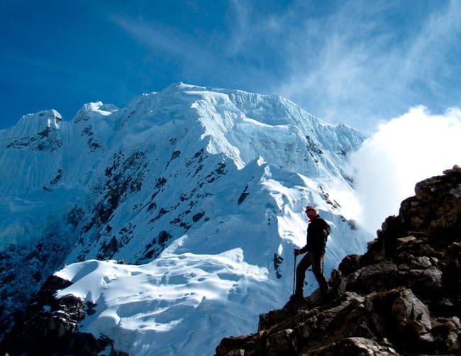 Salkantay trek and inca trail