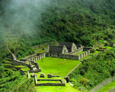 Trekking to Choquequirao Peru