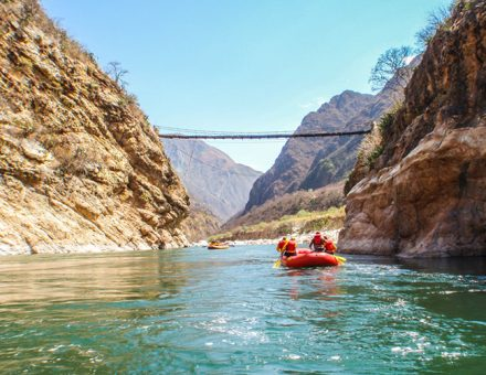 White Water River Rafting in Perú