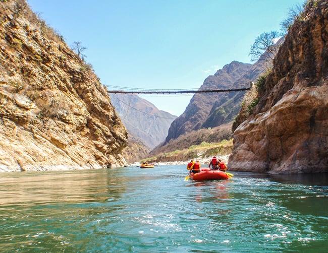 Apurimac River Rafting Peru Iletours