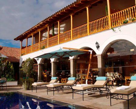 Hotel Lujoso Palacio Nazarenas Cusco