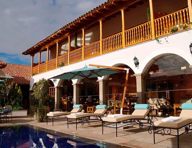 Hotel Luxuoso Palacio Nazarenas Cusco