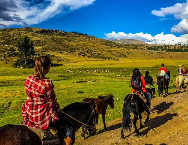 Cusco for you Horseback Riding Iletours