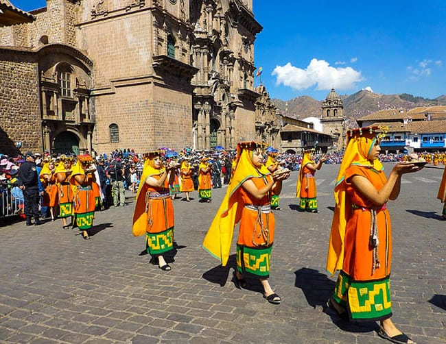 Festival of The Sun Peru Iletours