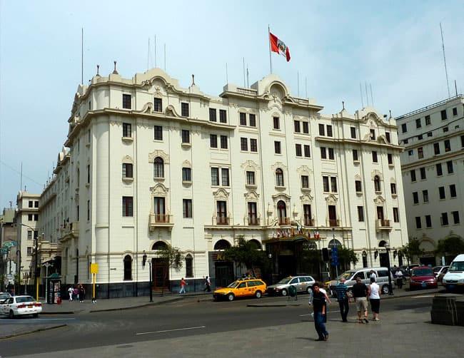 Gran Hotel Bolivar Lima Hotel Luxury
