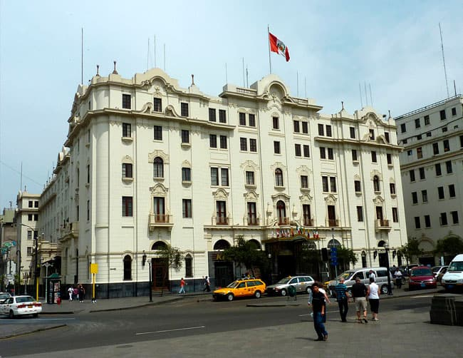 Hotel Gran Hotel Bolivar Lima