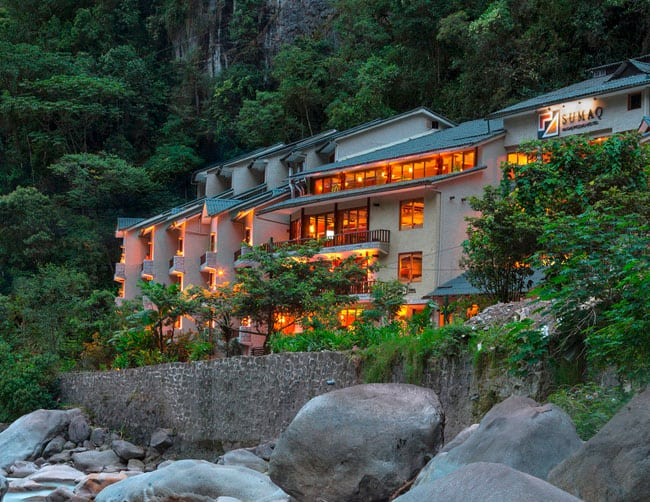 Sumaq Machu Picchu Hotel lujo 5 Estrellas