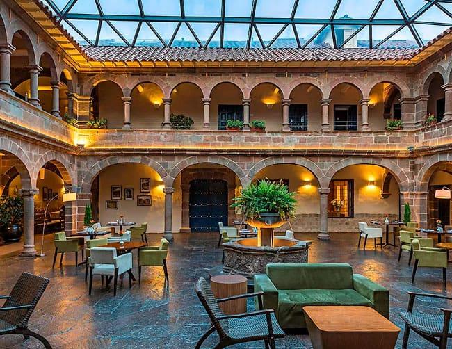 hoteles de lujo en cusco peru