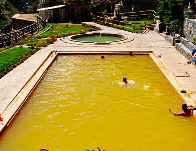 Lares the thermal hot springs Cusco tour Iletours