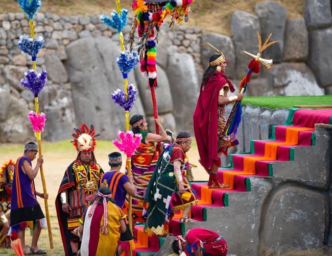 Sun Festival in Peru Iletours