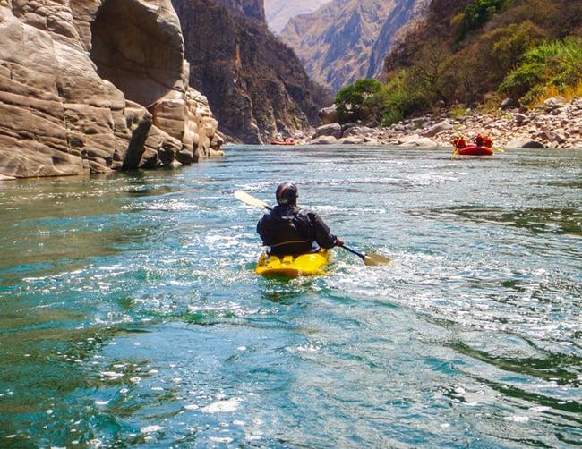 White Water Rafting Apurimac River Peru Iletours