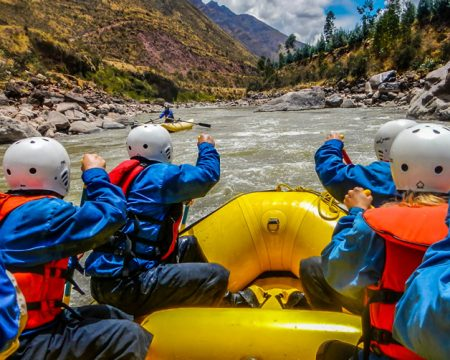 River Rafting Urubamba kayaking – 1 Day