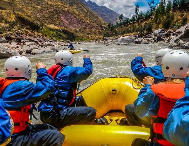 White Water Rafting Cusco Peru Iletours