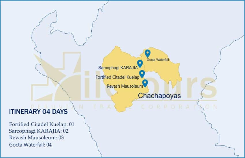 Chachapoyas Kuelap Tour 04 Days