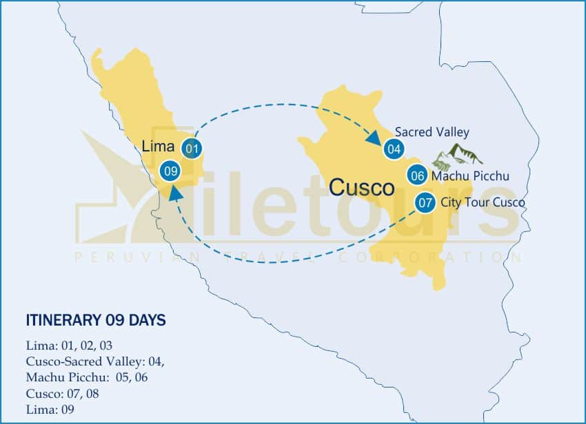 Family vacations for Christmas in Peru - 09 Days