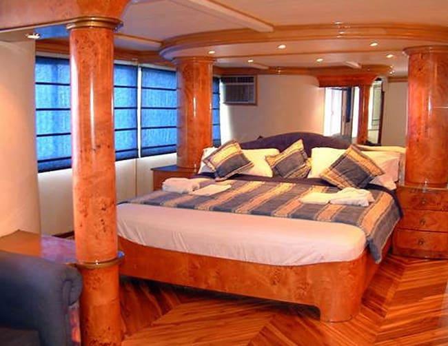 Millennium Yacht First Class Galapagos Cruise