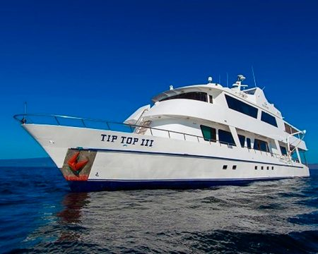Last Minute Tip Top III First Class Yacht Galapagos