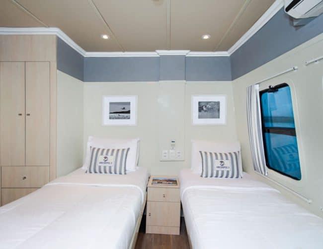 Archipel catamaran galapagos