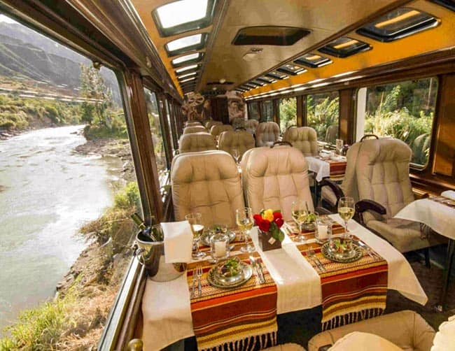train luxury inca trail