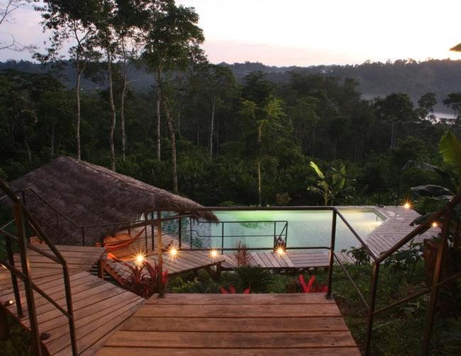 Luxury Amazon Lodges Ecuador iletours