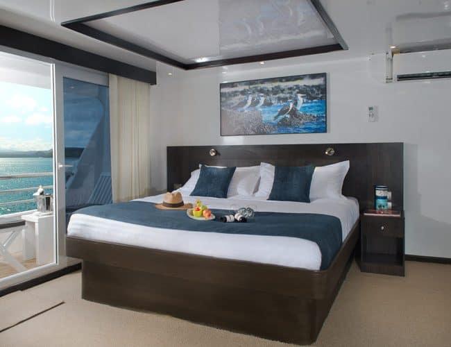 Cormorant galapagos cruises yacht luxury twin cabin