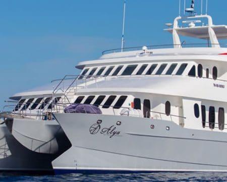 Alya Catamaran Galapagos Cruises