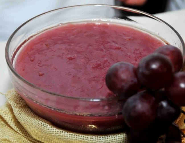 mazamorra de uva