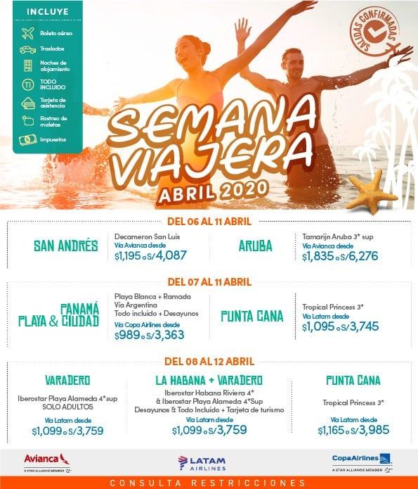Promocion Semana Santa 2020
