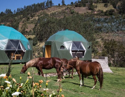 5-star luxury glamping Peru