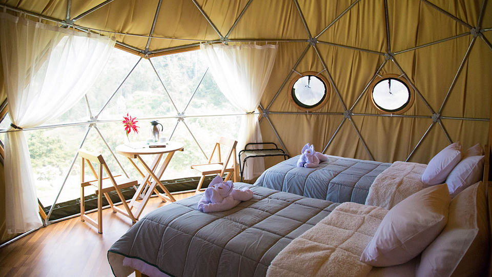 Glamping resorts South America