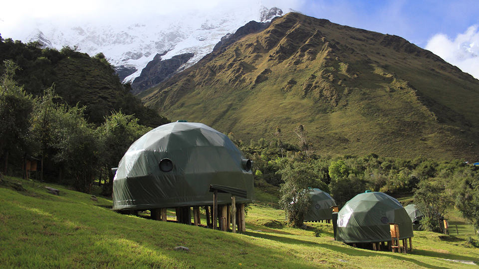 5-star luxury glamping camping peru