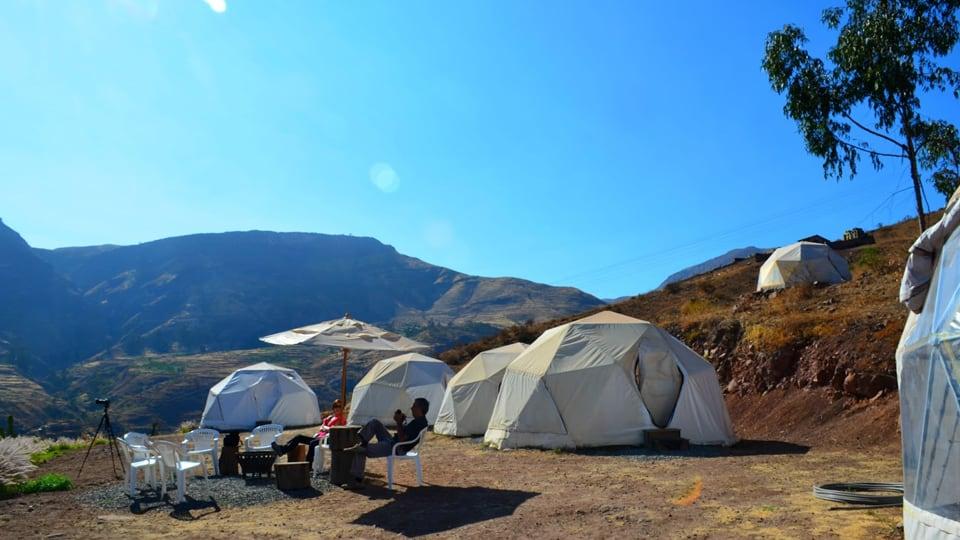 glamping tent vacations huarochiri